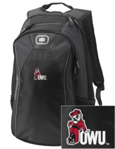 Ohio Wesleyan University Battling Bishops Embroidered OGIO Marshall Backpack
