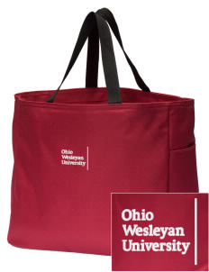 Ohio Wesleyan University Battling Bishops Embroidered Essential Tote
