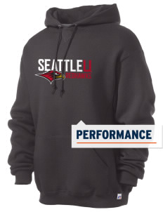 Seattle University Redhawks Russell Men's Dri-Power Hooded Sweatshirt