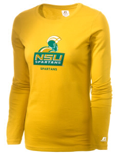 Norfolk State University Spartans  Russell Women's Long Sleeve Campus T-Shirt