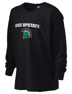 University of South Carolina Upstate Spartans Kid's 6.1 oz Long Sleeve Ultra Cotton T-Shirt