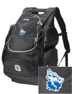 Cheyney University Wolves  Embroidered OGIO Bounty Hunter Backpack