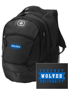 Cheyney University Wolves Embroidered OGIO Rogue Backpack