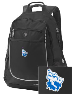 Cheyney University Wolves Embroidered OGIO Carbon Backpack