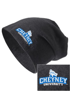 Cheyney University Wolves Embroidered Slouch Beanie
