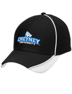 Cheyney University Wolves Embroidered New Era Contrast Piped Performance Cap