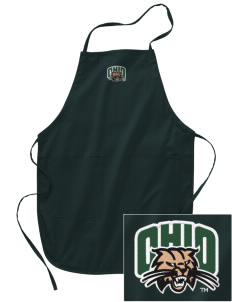 Ohio University Bobcats Embroidered Full Length Apron