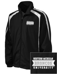 Western Michigan University Broncos Embroidered Men's Colorblock Raglan Jacket