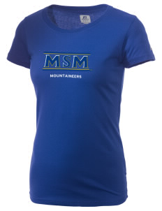 Mount St. Mary's University Mountaineers  Russell Women's Campus T-Shirt