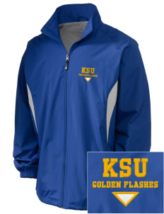 Kent State University Golden Flashes Embroidered Holloway Men's Full-Zip Jacket