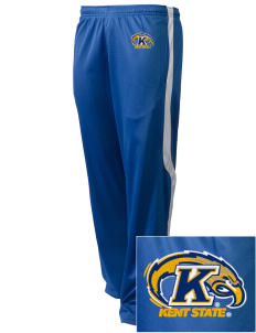 Kent State University Golden Flashes Embroidered Holloway Men's Tricotex Warm Up Pants
