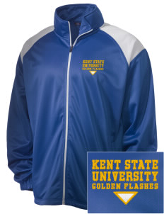 Kent State University Golden Flashes Embroidered Men's Tricot Track Jacket