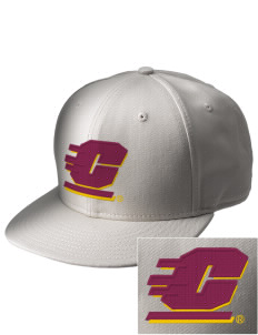 Central Michigan University Chippewas  Embroidered New Era Flat Bill Snapback Cap