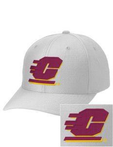 Central Michigan University Chippewas Embroidered Wool Adjustable Cap