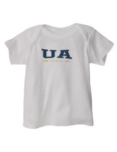 The University of Akron Zips  Baby Lap Shoulder T-Shirt