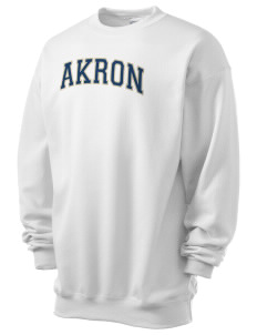 The University of Akron Zips Men's 7.8 oz Lightweight Crewneck Sweatshirt