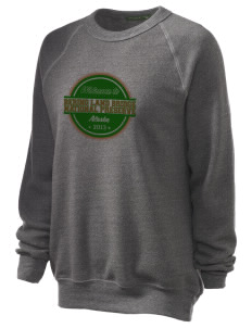 Bering Land Bridge National Preserve Unisex Alternative Eco-Fleece Raglan Sweatshirt