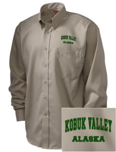 Kobuk Valley National Park  Embroidered Men's Nailhead Non-Iron Button-Down