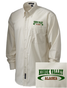 Kobuk Valley National Park  Embroidered Men's Easy Care, Soil Resistant Shirt