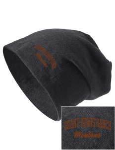 Grant-Kohrs Ranch National Historic Site Embroidered Slouch Beanie