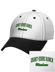 Grant-Kohrs Ranch National Historic Site Embroidered New Era Snapback Performance Mesh Contrast Bill Cap