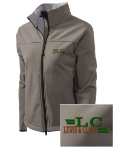 Lewis & Clark National Historic Trail Embroidered Women's Glacier Soft Shell Jacket