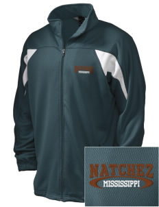 Natchez National Historical Park Embroidered Holloway Men's Full-Zip Track Jacket