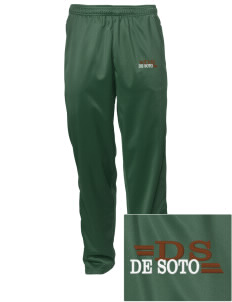 De Soto National Memorial Embroidered Men's Tricot Track Pants