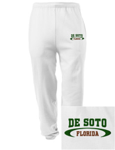 De Soto National Memorial Embroidered Men's Sweatpants with Pockets