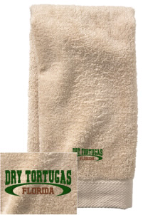 Dry Tortugas National Park  Embroidered Zero Twist Resort Hand Towel