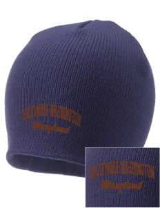 Baltimore-Washington Parkway Embroidered Knit Cap