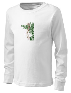 Greenbelt Park  Kid's Long Sleeve T-Shirt