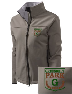 Greenbelt Park Embroidered Women's Glacier Soft Shell Jacket