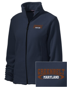 Greenbelt Park Embroidered Women's Wintercept Fleece Full-Zip Jacket