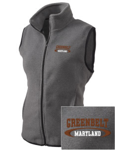 Greenbelt Park Embroidered Women's Fleece Vest