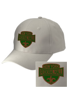 Federal Hall National Memorial Embroidered Low-Profile Cap