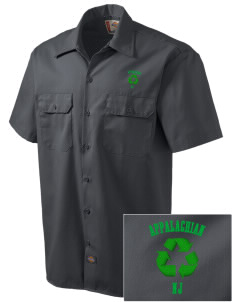 Appalachian National Scenic Trail Embroidered Dickies Men's Short-Sleeve Workshirt