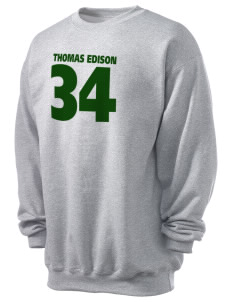 Thomas Edison National Historical Park Men's 7.8 oz Lightweight Crewneck Sweatshirt