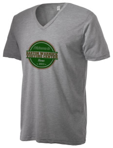 Barton Warnock Visitors Center Alternative Men's 3.7 oz Basic V-Neck T-Shirt