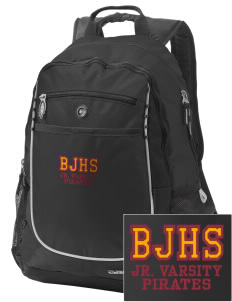 Byng Junior High School Pirates Embroidered OGIO Carbon Backpack