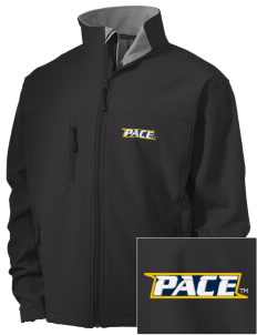 Pace University Setters Embroidered Men's Soft Shell Jacket