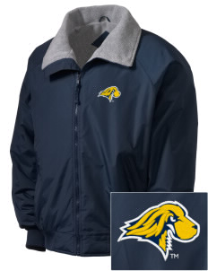 Pace University Setters Embroidered Men's Fleece-Lined Jacket