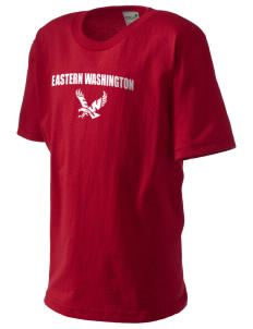 Eastern Washington University Eagles Kid's Organic T-Shirt