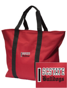 South Carolina State University Bulldogs Embroidered Tote