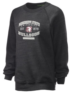 Mississippi State University Bulldogs Unisex Alternative Eco-Fleece Raglan Sweatshirt
