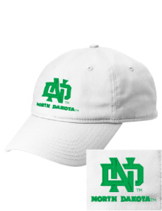 University of North Dakota Athletics  Embroidered New Era Adjustable Unstructured Cap