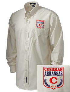 Cushman  Embroidered Men's Easy Care, Soil Resistant Shirt