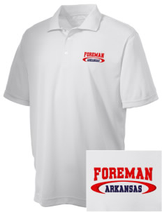 Foreman Embroidered Men's Double Mesh Polo