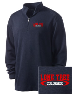 Lone Tree Embroidered Nike Men's Golf Heather Cover Up