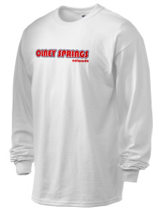 Olney Springs 6.1 oz Ultra Cotton Long-Sleeve T-Shirt